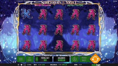 Sorcerers of the Night slots Slot Reels