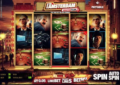 The Amsterdam Masterplan slots Slot Reels