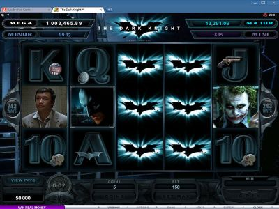 The Dark Knight slots Slot Reels