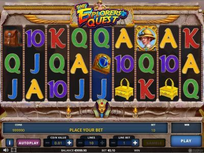 The Explorer's Quest slots Slot Reels