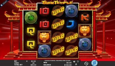 Tiger Temple slots Slot Reels