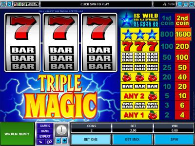 Triple Magic Mini slots Slot Reels