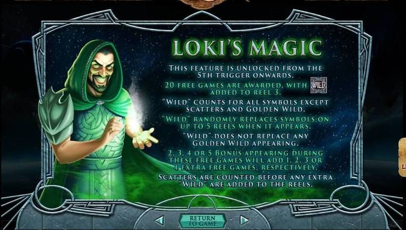 Asgard slots Free Spins Feature