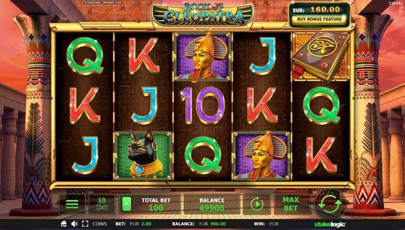Book of Cleopatra slots Slot Reels