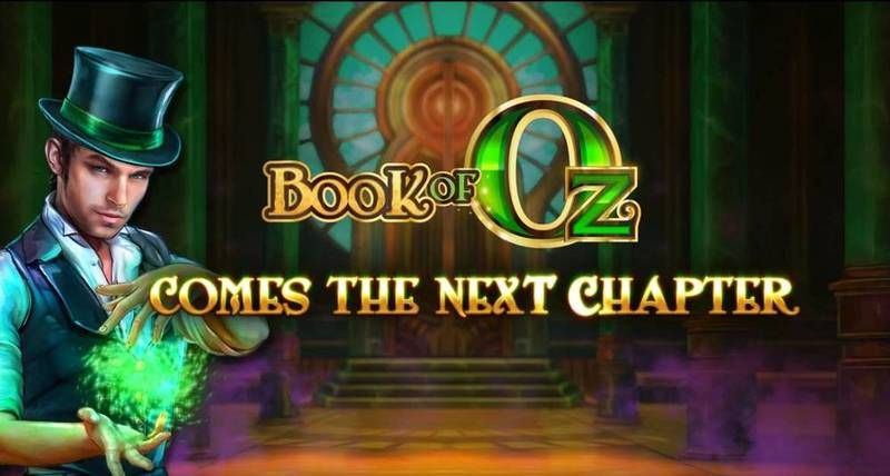 Book of Oz Lock 'N Spin slots