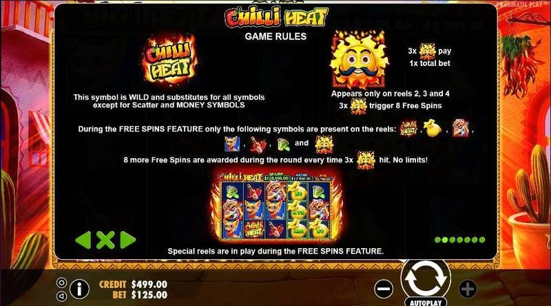 Chilli Heat slots Bonus 1