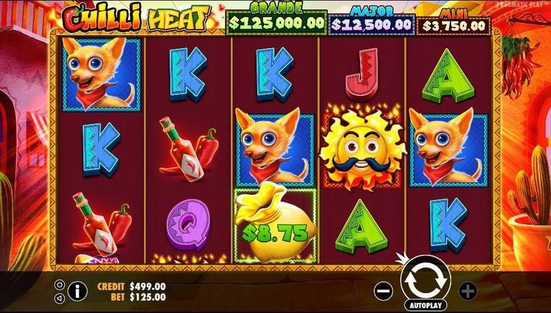 Chilli Heat slots Slot Reels