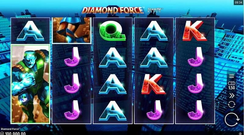 Diamond Force slots Slot Reels