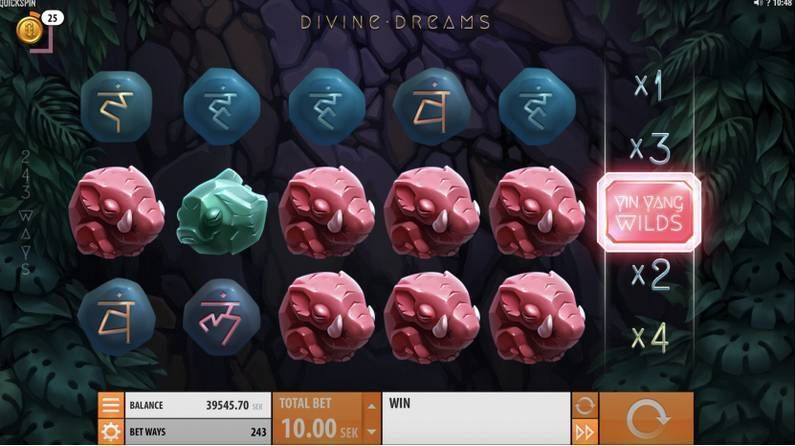 Divine Dreams slots Slot Reels