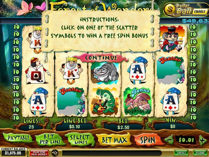 Forest of Wonders slots Bonus 2