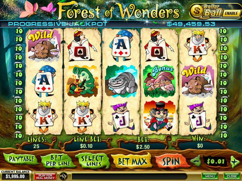 Forest of Wonders slots Slot Reels