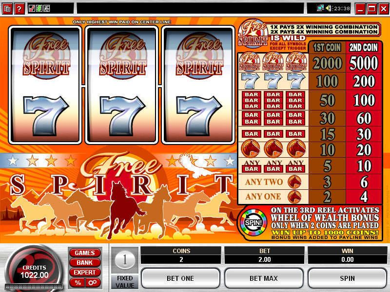 Free Spirit Wheel of Wealth slots Slot Reels