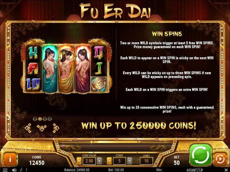 Fu Er Dai slots Free Spins Feature