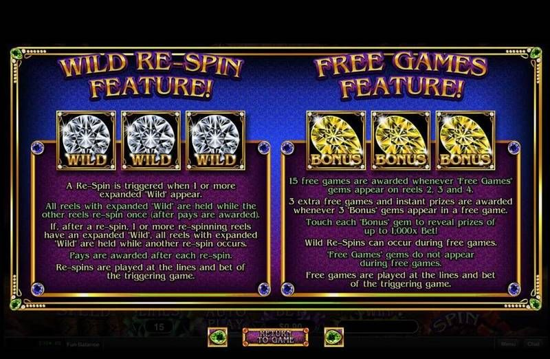 Gemtopia slots Free Spins Feature