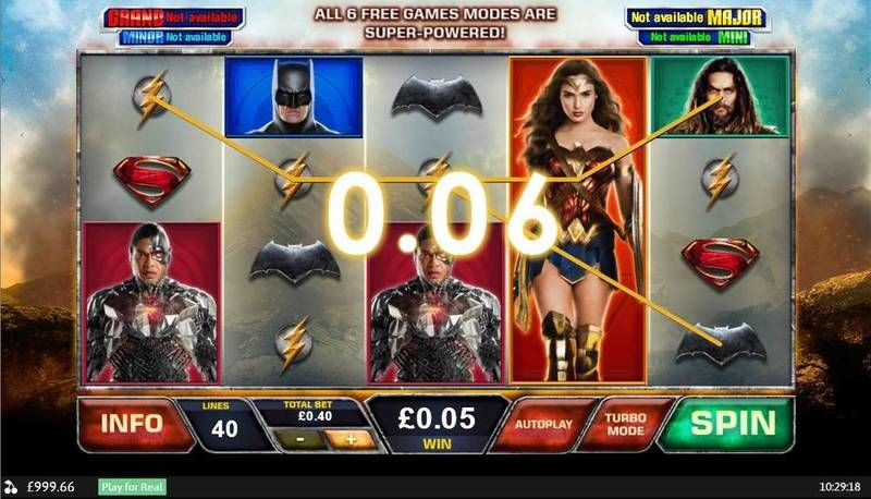 Justice League slots Slot Reels