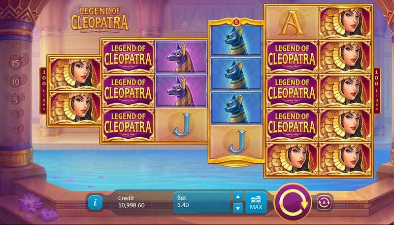 Legend Of Cleopatra Fixed Lines Playson Slot Machine