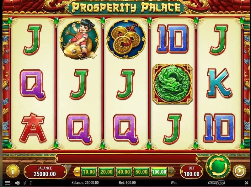 PlayN Go Releases New Prosperity Palace Slot