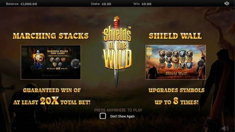 Shields of the Wild slots Info