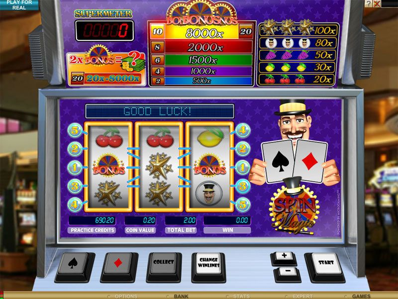 Spin Magic slots Slot Reels