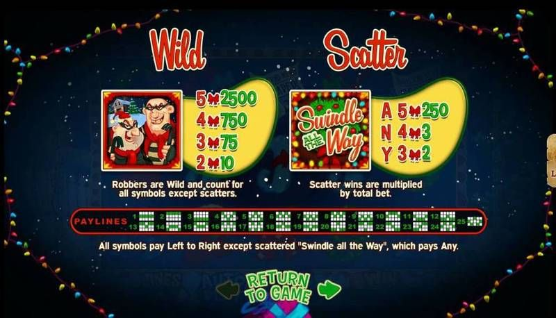 Swindle All The Way slots Bonus 1