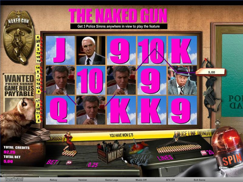 The Naked Gun Slot - Play Online for Free or Real Money
