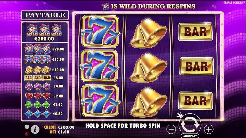 Triple Jokers slots