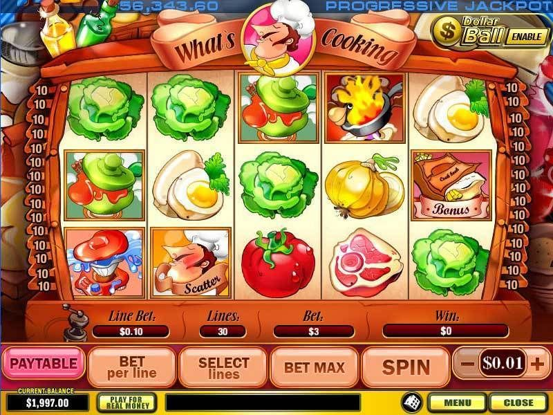 What's Cooking slots Slot Reels